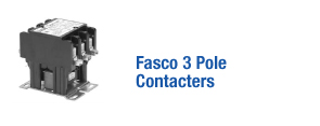 Fasco 3 Pole Contacters
